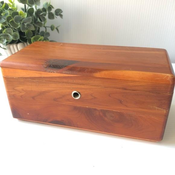 Art Wood Jewelry Box Lane Co Cedar Chest